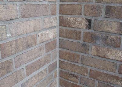 Maueranschlussfuge (Außenversiegelung)