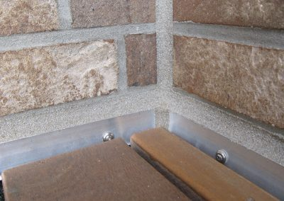 Maueranschlussfuge Terassenbereich (Außenversiegelung)