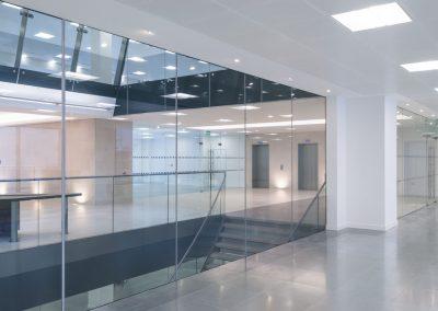 Büroräume und Passagen